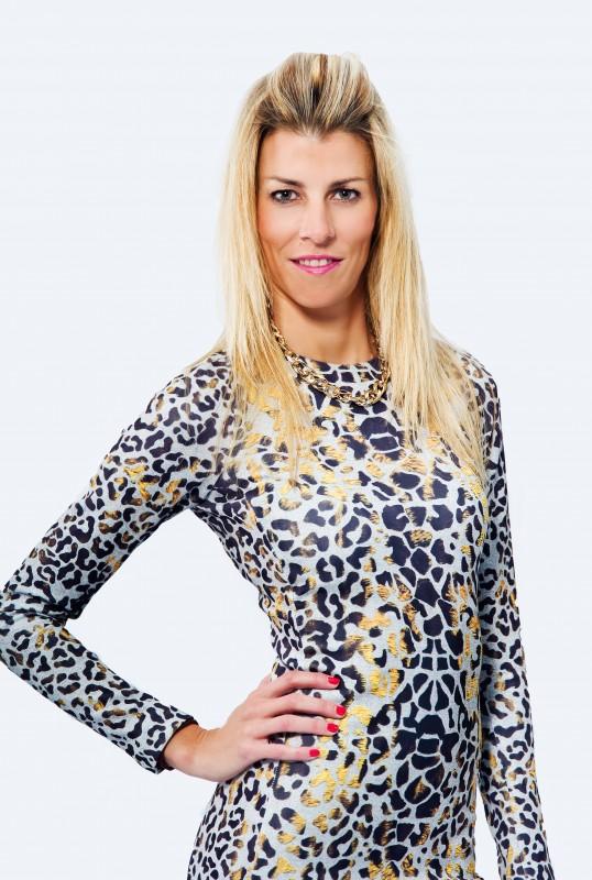 Eva Vestido animalprint