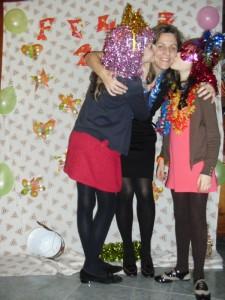 Mama-Moky y sus señoritas hijas!