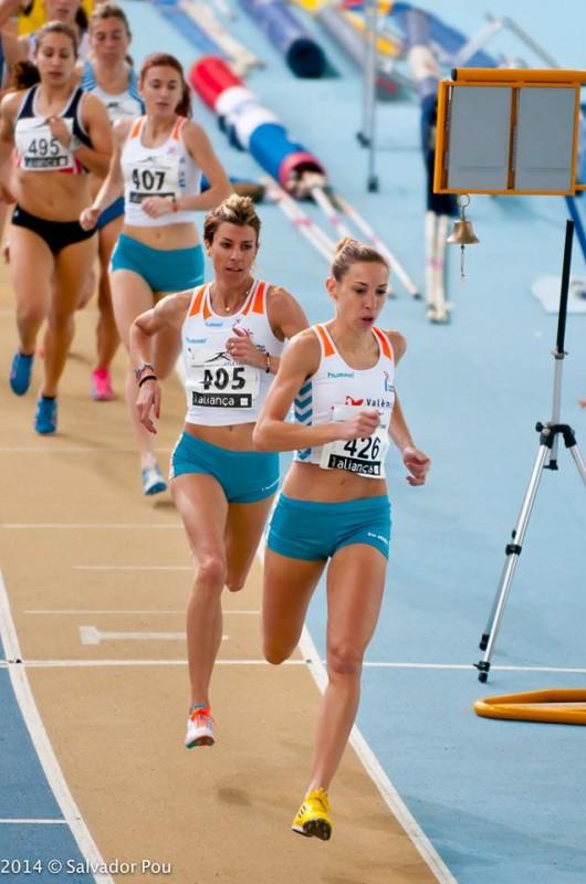 Elian Periz y Eva Arias 1500m.l Sabadell