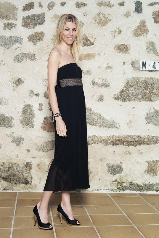 falda-vestido negro