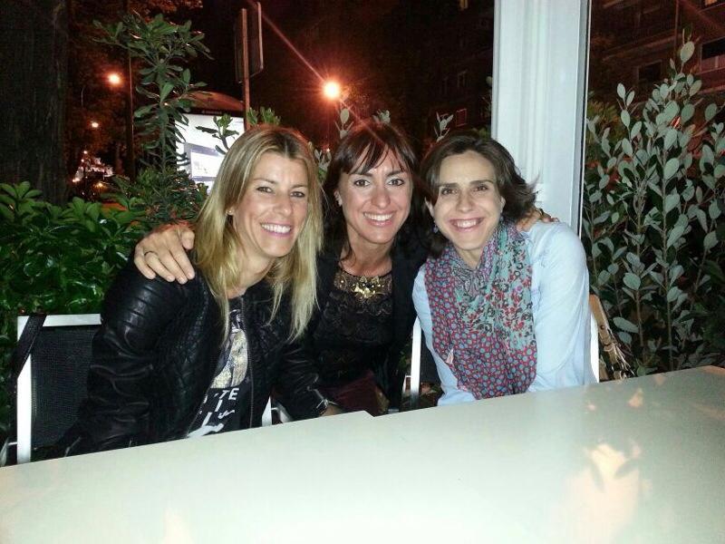 Dori Garcia, Nuria Fernandez y Eva Arias
