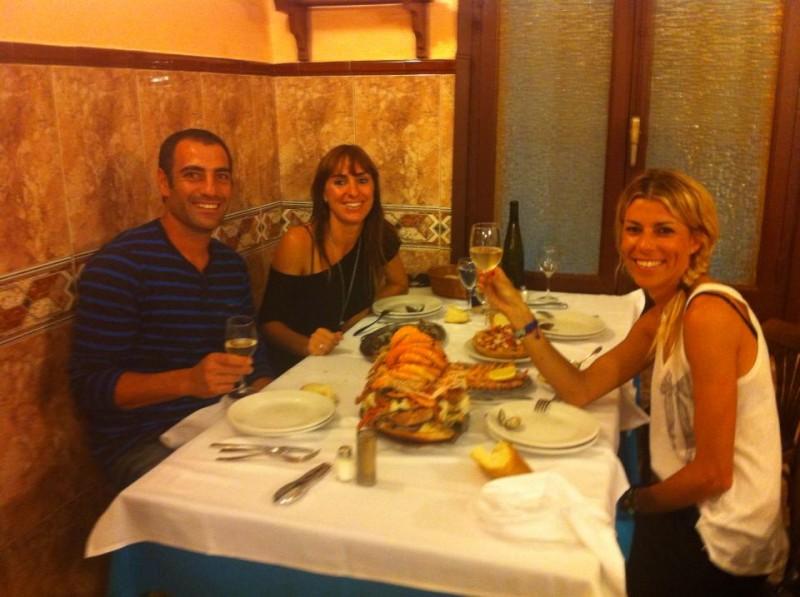 Cesar Gonzalez, Dori García y Eva Arias