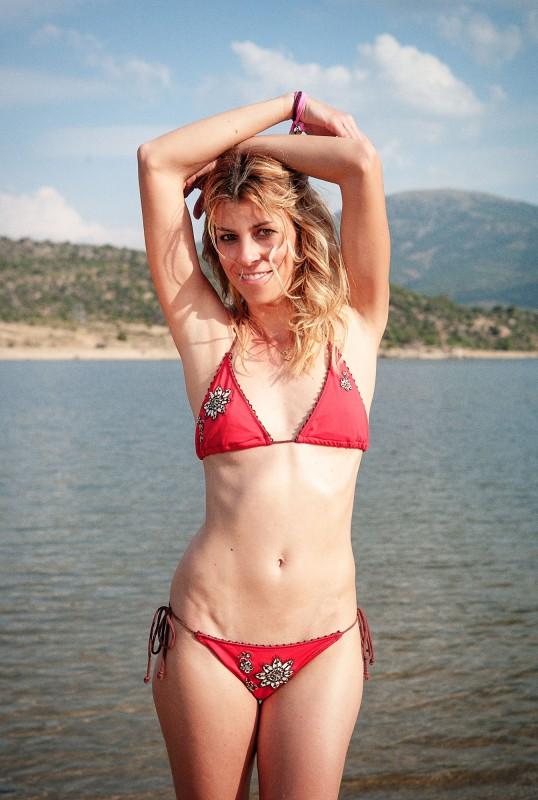 Bikini étnico.