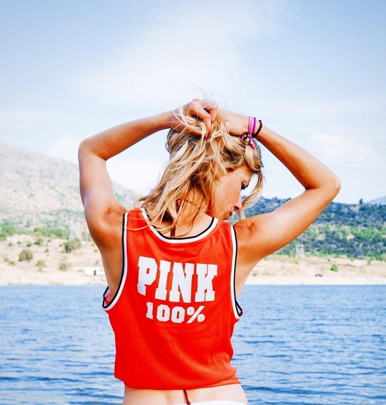 Pink 100%