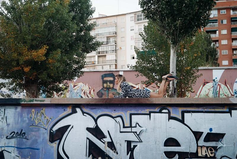 Beso grafitero!