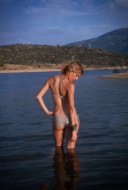 Eva Arias, bikini.
