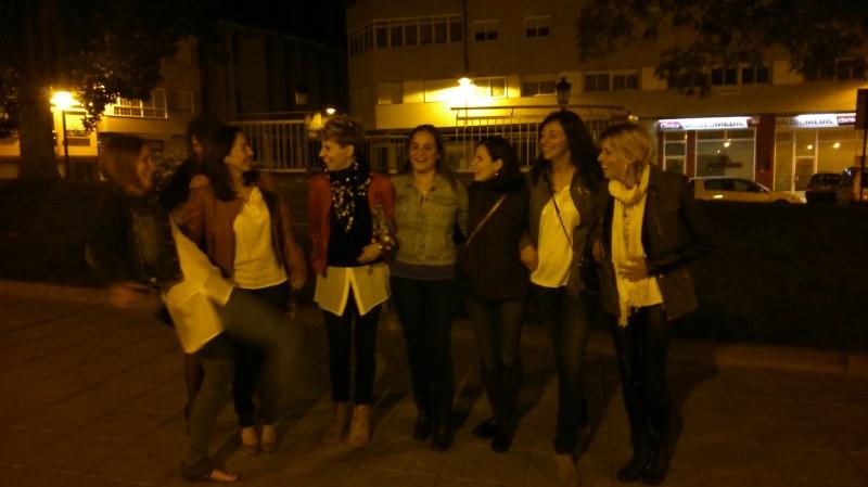 Cena de chicas del Adas!