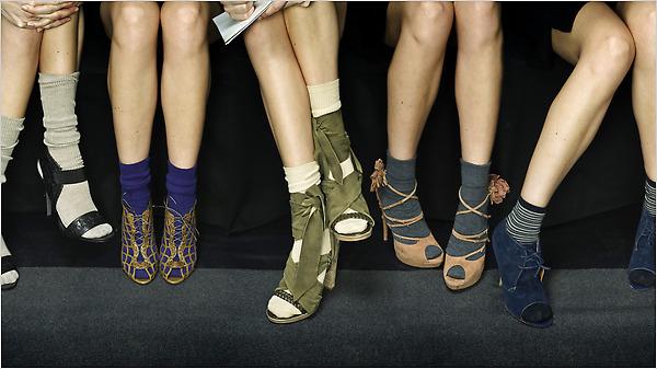 sandalias+calcetines!