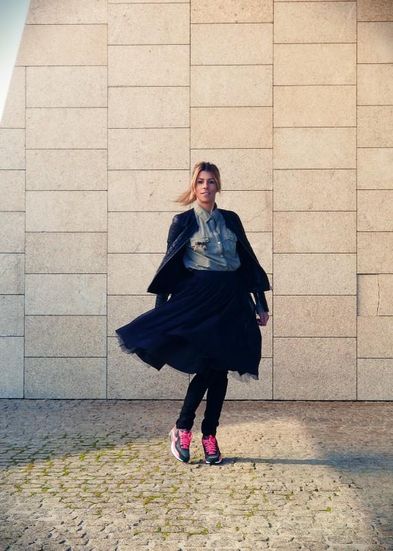 Pin&Thimble, falda tull!