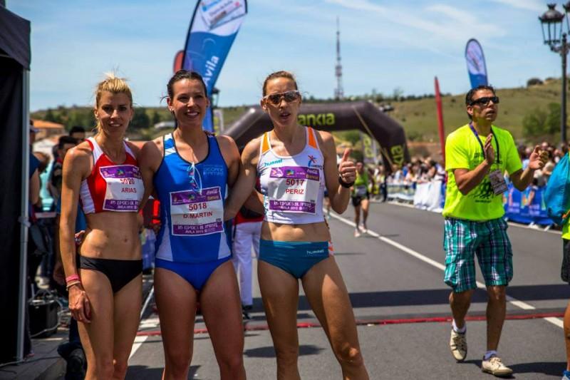 Tres primeras clasificadas absolutas femeninas 5000mtrs!