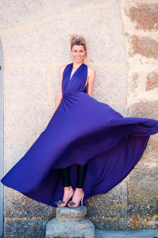 Eva Arias, vestido Pin&Thimble