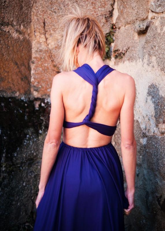 Vestido anudado en la espalda!