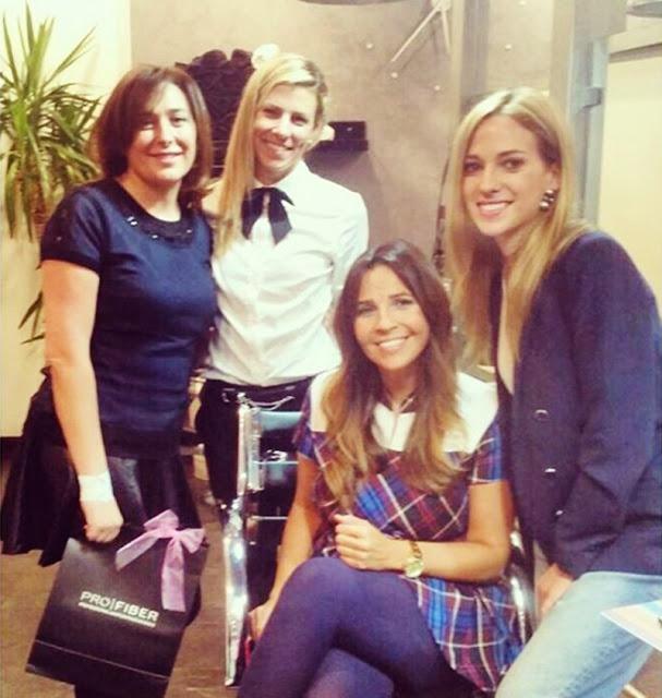 Blogueras en peluquería Mirta F. del Blanco