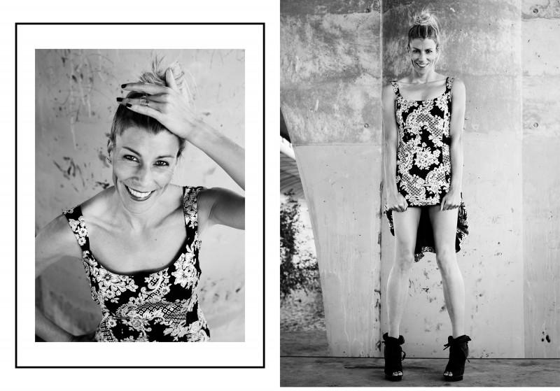 Eva Arias, vestido joya