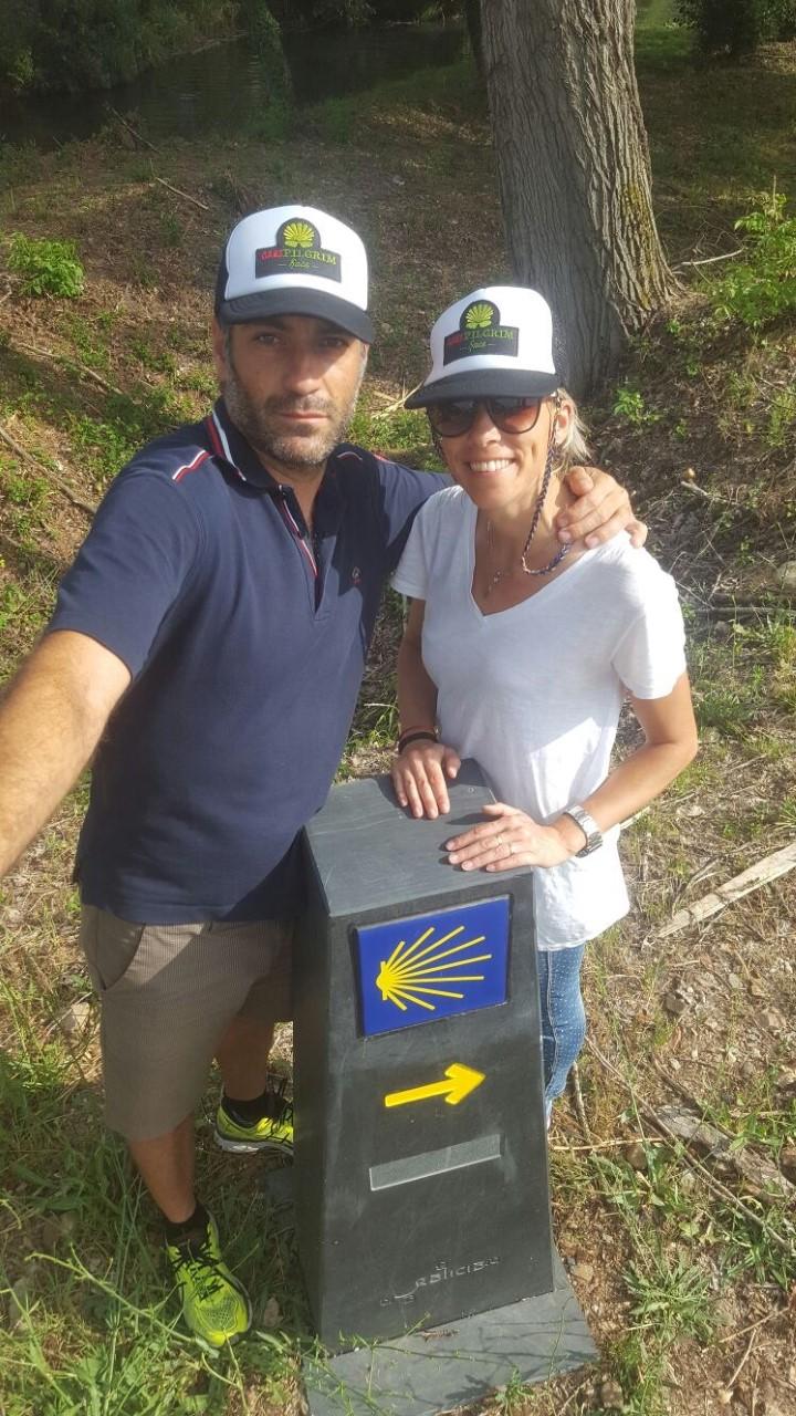 César Gónzalez y Eva Arias